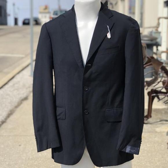 f512b4bdaa3527 Boglioli Suits & Blazers   New Navy Italy Wool 3 Button Jacket 48r ...